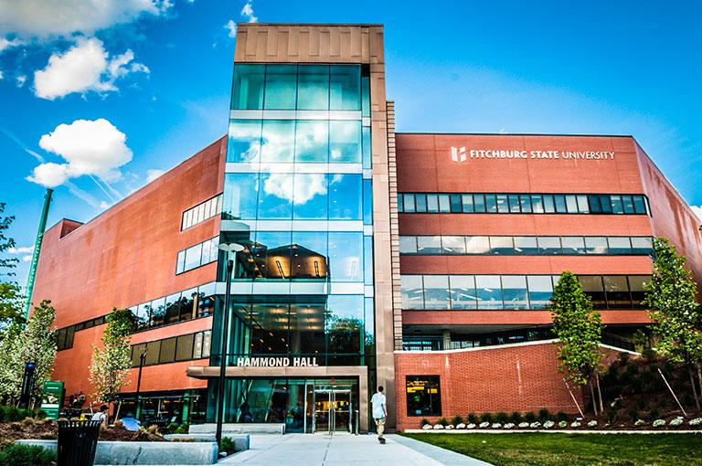 Fitchburg State's Hammond building, photo from fitchburgstate.edu