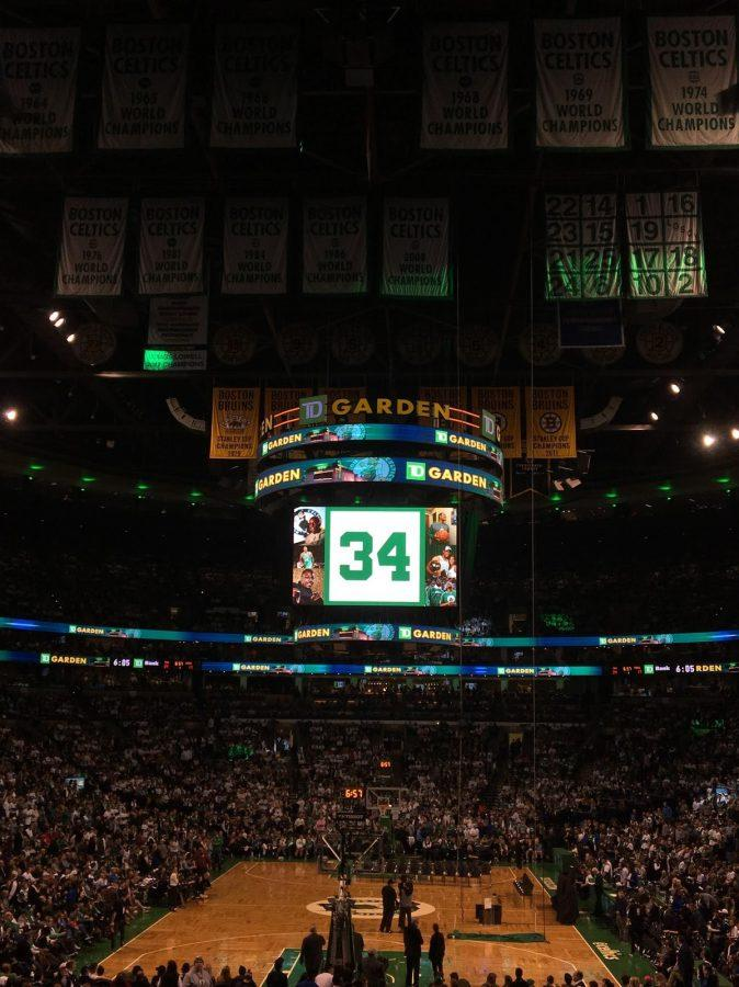 Paul Pierce Jersey Retirement Ceremony