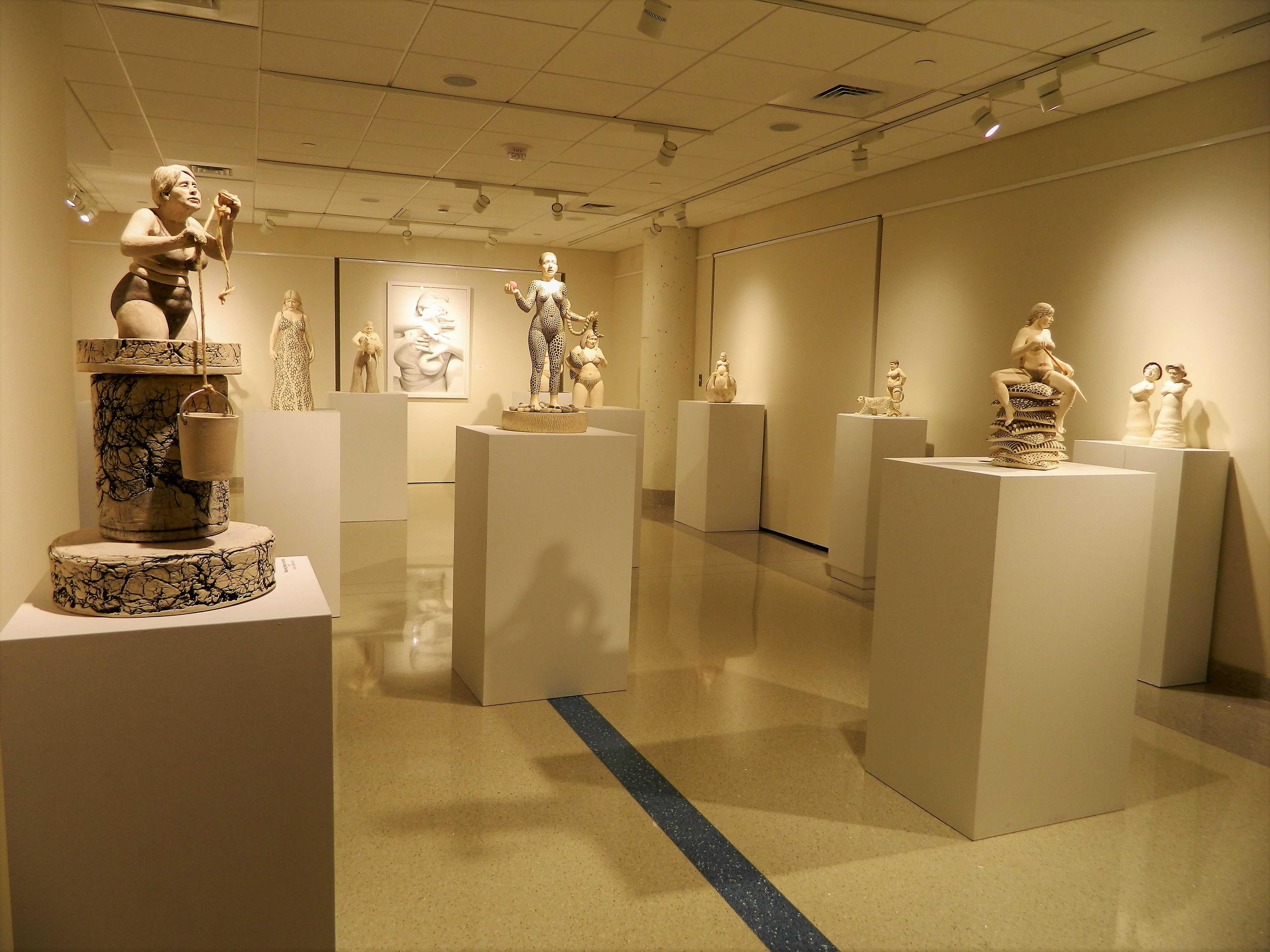 Multiple Statues