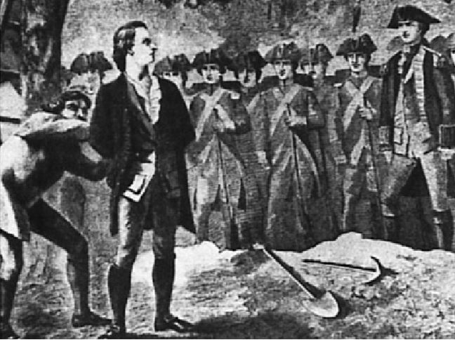 Nathan Hale is One of my Favorite Patriots