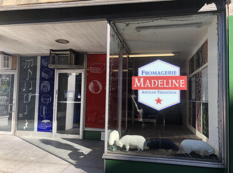 The+newly+opened+Fromagerie+Madeline+cheese+shop+is+located+at+43+Main+Street+in+Leominster.+Photo+courtesy+of+Jordan+Costa.