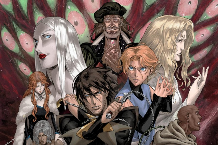 Netflix%27s+%22Castlevania%22+received+crtical+acclaim+for+its+adaptation+of+a+classic+game+franchise.+%28Image+courtesy+of+Netflix%29